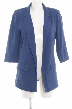 Zabaione Long-Blazer stahlblau Business-Look