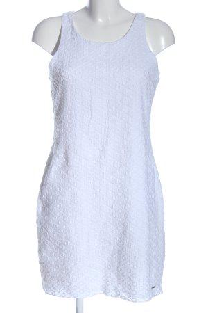 Zabaione Minikleid blau Punktemuster Elegant