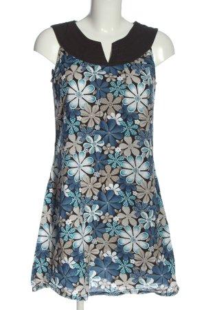 Zabaione Mini Dress flower pattern casual look