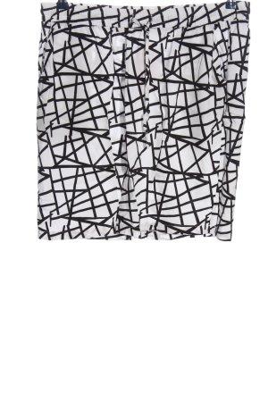 Zabaione Minirock weiß-schwarz Casual-Look
