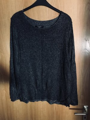 Zabaione Crewneck Sweater grey-black