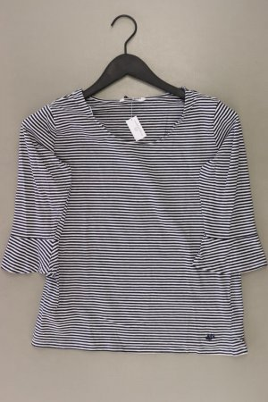 Zabaione T-shirt rayé noir coton