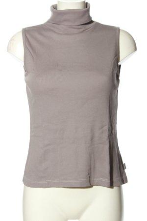 Zabaione Turtleneck Shirt light grey casual look