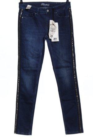 Zabaione Skinny Jeans blau Casual-Look