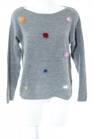 Zabaione Strickpullover meliert Casual-Look