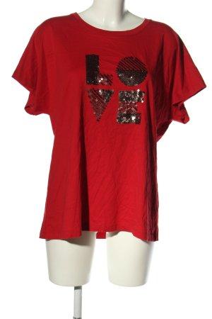 Zabaione T-Shirt rot Casual-Look