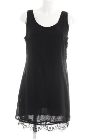 Zabaione Trägerkleid schwarz Elegant