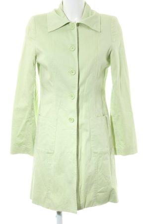 Zabaione Trenchcoat grün Casual-Look