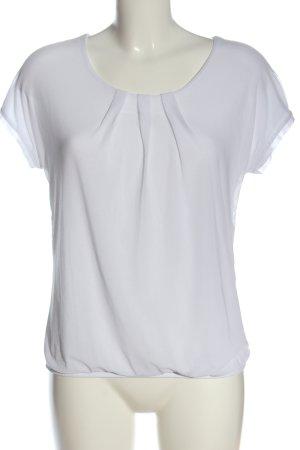 Zabaione Boatneck Shirt white elegant