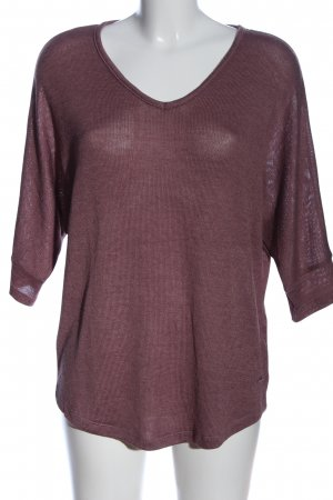 Zabaione V-Neck Sweater lilac casual look