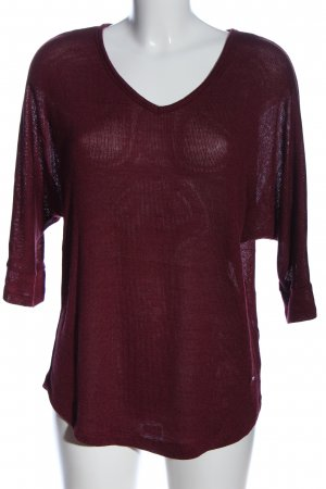 Zabaione V-Ausschnitt-Pullover pink Casual-Look