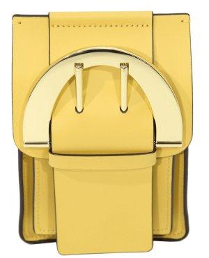 Zac Posen Umhängetasche in Gelb aus Leder