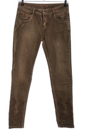 Zac & Zoe Slim Jeans braun Casual-Look