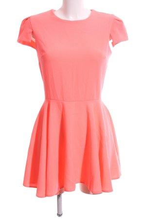 Zack A-Linien Kleid hellorange Casual-Look