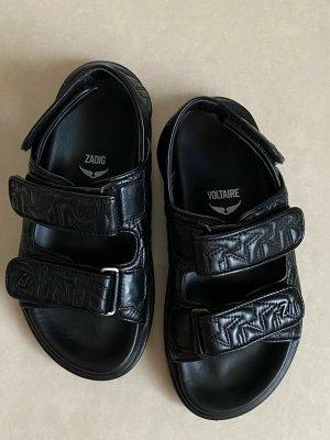 Zadig & Voltaire Outdoor sandalen zwart Leer