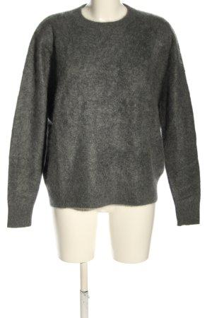 Zadig & Voltaire Kaszmirowy sweter jasnoszary Melanżowy W stylu casual