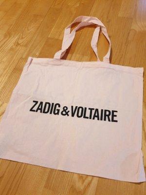 Zadig & Voltaire Bolso de tela rosa claro