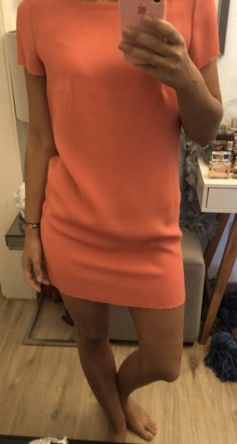 Zadig & Voltaire Deluxe Kleid korallenrot Gr S Shirtkleid