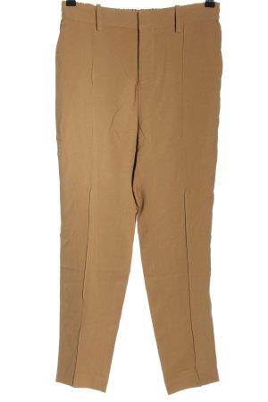 Zadig & Voltaire Pantalon taille haute brun style d'affaires