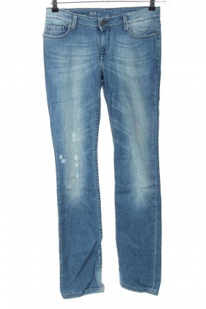Zadig & Voltaire Jeans taille basse bleu