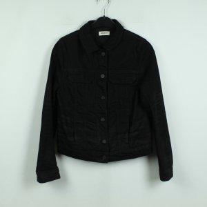 Zadig & Voltaire Jeansowa kurtka czarny Bawełna