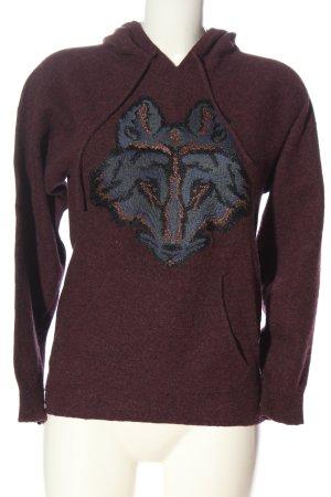 Zadig & Voltaire Sweter z kapturem Melanżowy W stylu casual