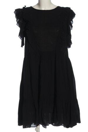Zadig & Voltaire Sukienka z krótkim rękawem czarny Elegancki
