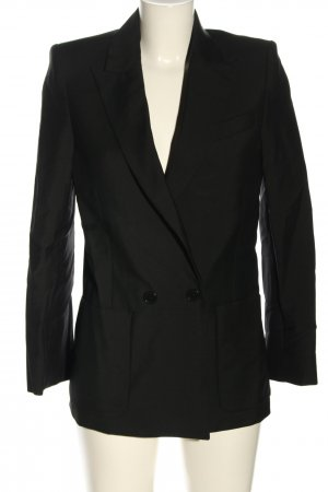 Zadig & Voltaire Long-Blazer schwarz Business-Look