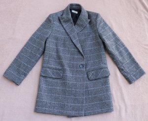 Zadig & Voltaire Manteau en laine gris foncé-gris