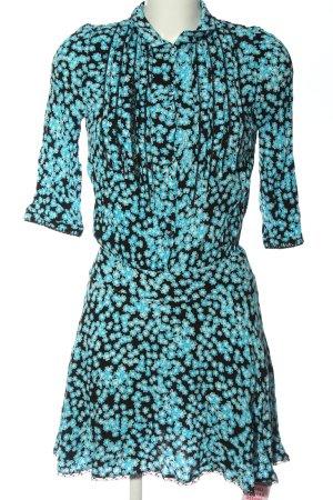 Zadig & Voltaire Sukienka mini niebieski-czarny Na całej powierzchni