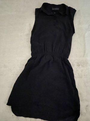 Zadig & Voltaire Mini vestido negro Seda