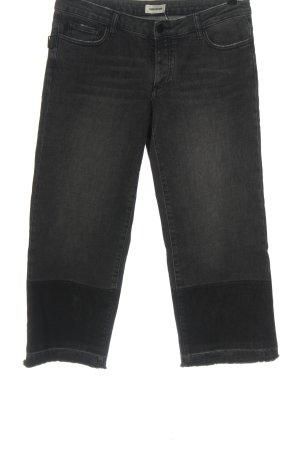 Zadig & Voltaire Jeansy z prostymi nogawkami czarny Melanżowy W stylu casual