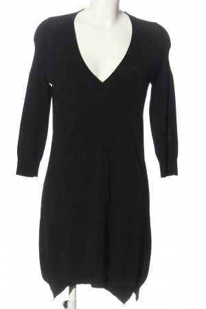 Zadig & Voltaire Sukienka z dzianiny czarny W stylu casual