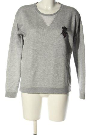 Zadig & Voltaire Bluza dresowa jasnoszary Melanżowy W stylu casual