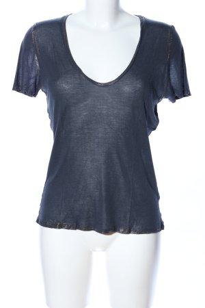 Zadig & Voltaire T-Shirt blau Casual-Look