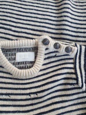Zadig & Voltaire Wollen trui room-donkerblauw
