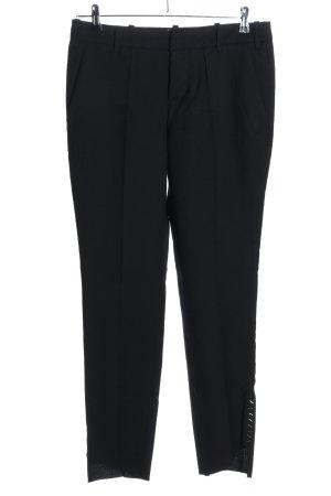 Zadig & Voltaire Pantalón de lana negro look casual