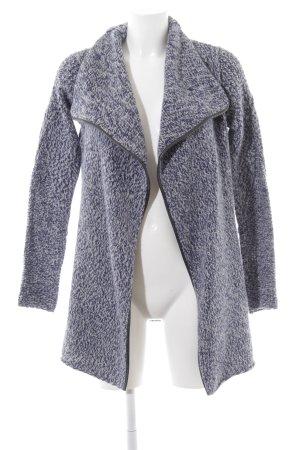 Zadig & Voltaire Wolljacke blau meliert Street-Fashion-Look