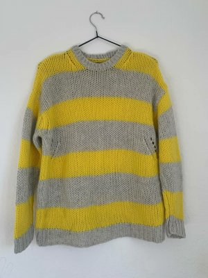 Zadig & Voltaire Cashmere Jumper grey-pale yellow