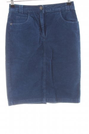 zaffiri Bleistiftrock blau Casual-Look