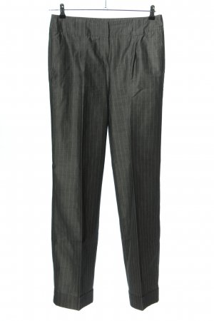 zaffiri Pleated Trousers light grey allover print business style