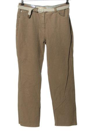 zaffiri Straight-Leg Jeans braun Casual-Look