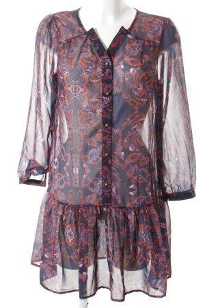 Zaful Blusenkleid mehrfarbig Casual-Look