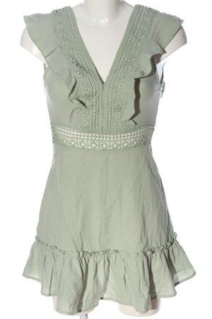 Zaful Minikleid grün Casual-Look