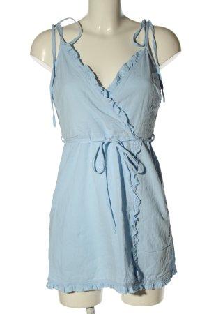 Zaful Minikleid blau Casual-Look