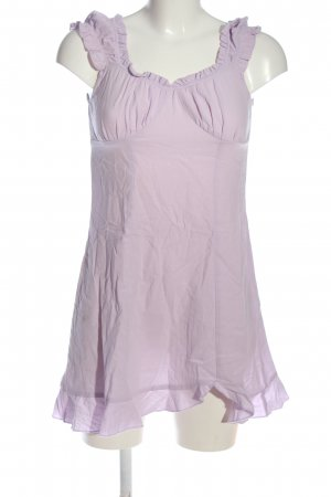 Zaful Minikleid lila Casual-Look