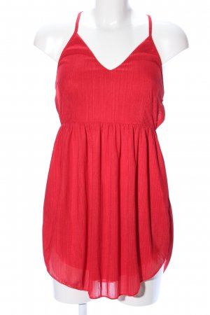 Zaful Minikleid rot Casual-Look