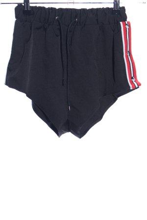 Zaful Shorts schwarz Casual-Look