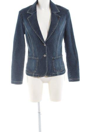Zagora Jeansblazer blau Casual-Look