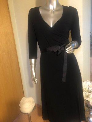 Zagora Vestido cruzado negro